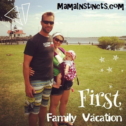 Find out what we learned after taking our first vacation with a baby. #travel #familytravel #travelingwithkids #travelingwithbaby