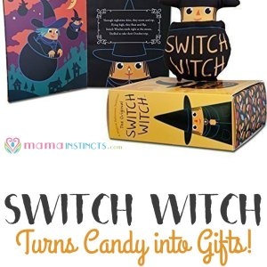 Don't want your kid eating all that halloween candy? Then try this! #halloween #switchwitch