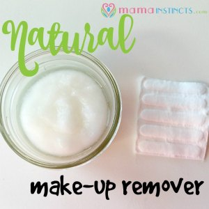DIY Natural Make-Up Remover