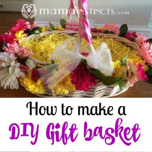 How to make a DIY Gift basket