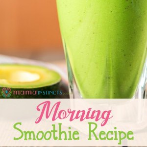 Morning smoothie {recipe}