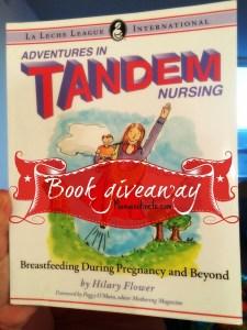Book giveaway: Adventures in tandem nursing