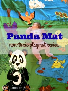 Panda Mat non-toxic playmat review