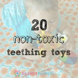 20 non-toxic teething toys