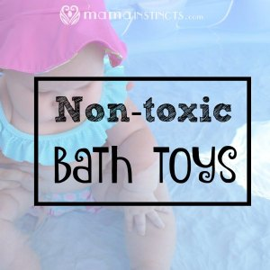 Non-toxic bath toys
