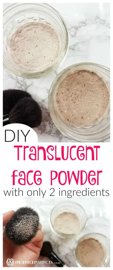 Try this non-toxic and organic DIY translucent face powder to set your make-up and remove the shiny look on you face during the summer months. Safe for moms, dads and even kids.