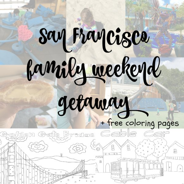 Check-out these great family friendly places to visit in San Francisco. #SanFrancisco #travelingwithkids #familytravel #coloringpages