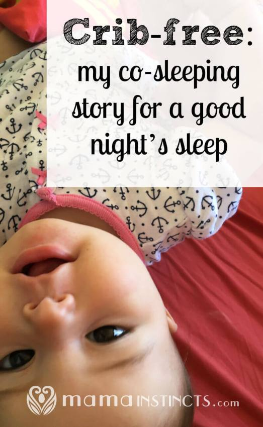 How we went from trying a crib to bed sharing and actually getting sleep. Co-sleeping when done safely is a great solution for night-time with babies.