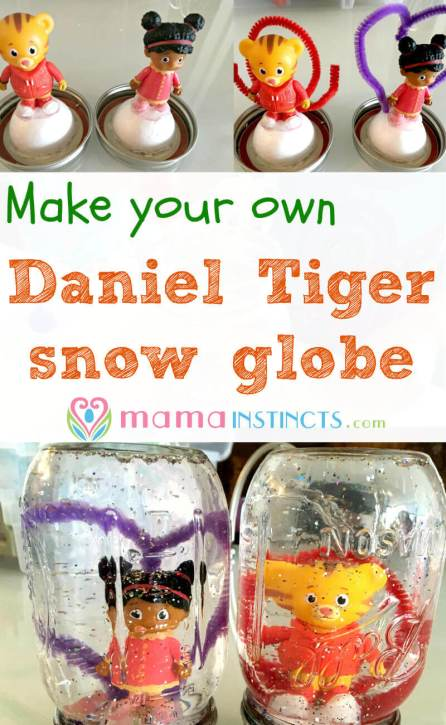 Try this easy snow globe kid craft! Perfect for birthdays or a rainy day.