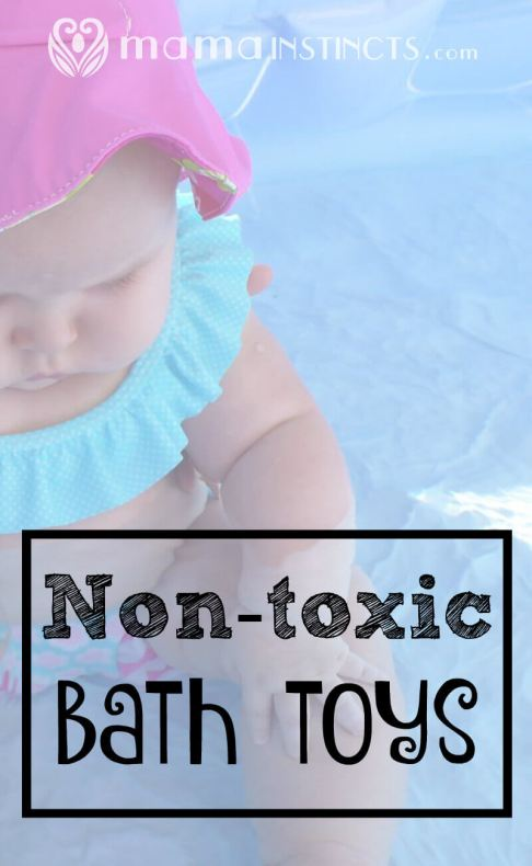Find out which toys are non-toxic for your kid's bath time. Don't just let them chew on any toy!