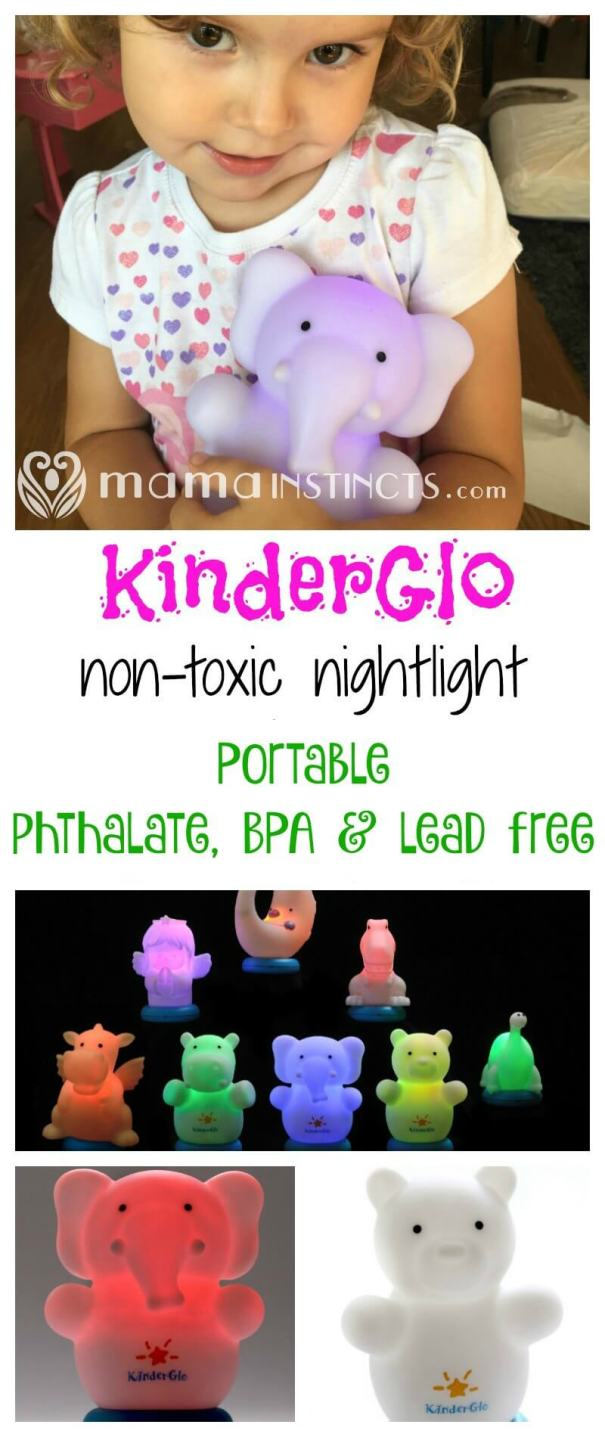 Learn about this portable, non-toxic and cuddly nightlight for your kid.  Make nighttime fun with KinderGlo - a phthalate, BPA & lead free nightlight.