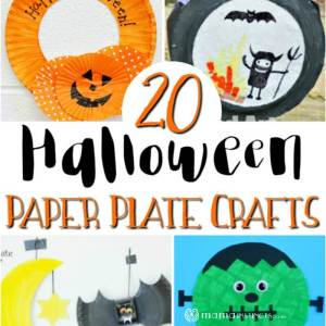 20 Halloween paper plate crafts