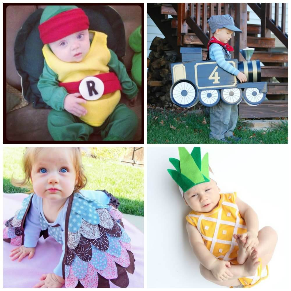 28 diy halloween costumes for babies and toddlers – mama instincts