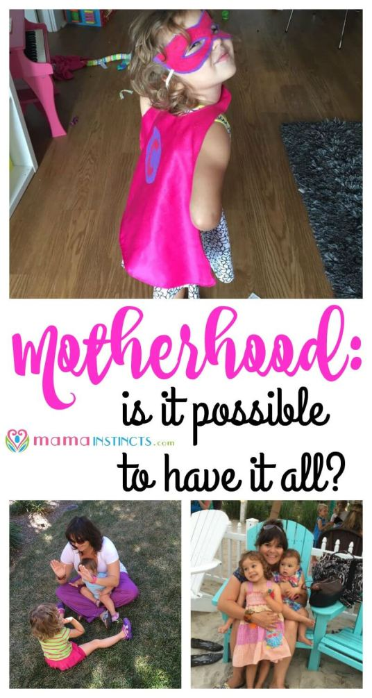 Can you have it all, a successful career, a perfect household and be an amazing mother? Maybe for some but for most it's about finding a balance that might be unbalanced. Click to read more or pin it to read it later.
