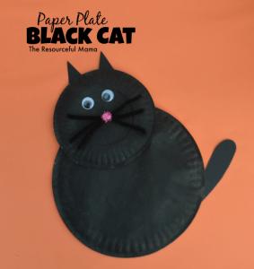 Paper-plate-black-cat-283x300