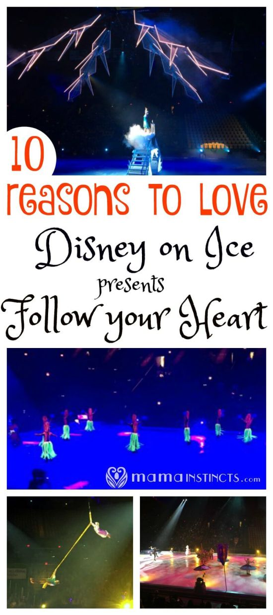 Find out why you just have to see Disney on Ice presents Follow your Heart and what we loved about this amazing musical on ice, from the choreography, to the costumes and the magic.