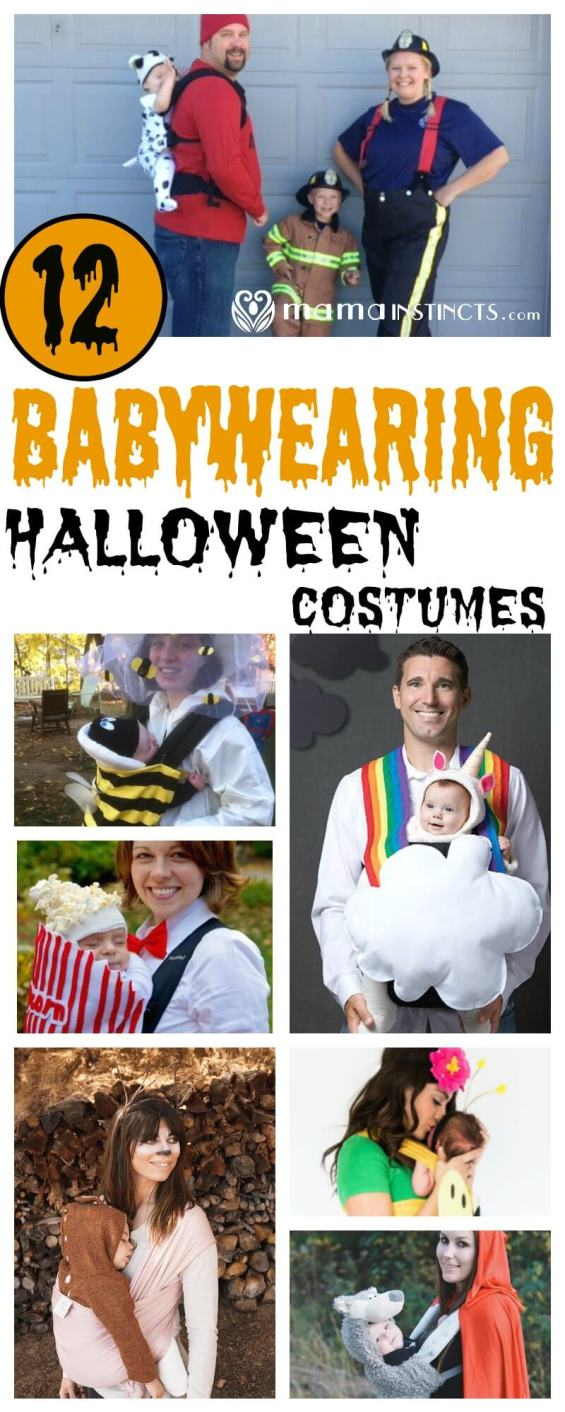 Are you a babywearing this Halloween? Then check out these awesome Halloween babywearing costumes that you can easily make at home.