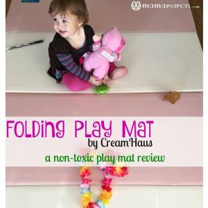 Folding Play Mat by CreamHaus non-toxic play mat review