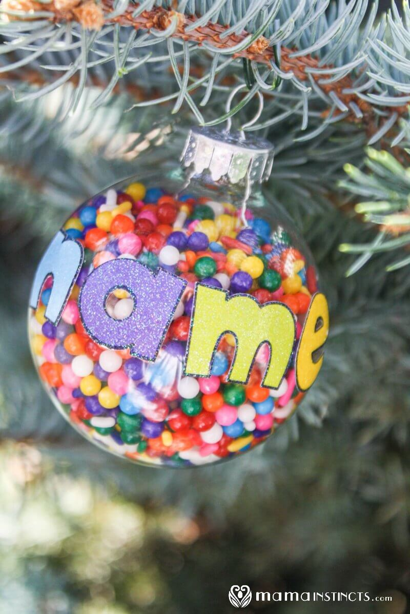 Uncategorized Make Personalized Christmas Ornaments personalized christmas ornament that kids can make mama instincts ornament5