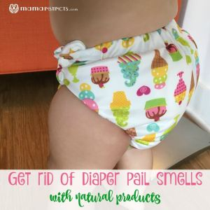 Get Rid of Diaper Pail Smells with Natural Products