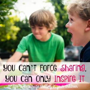 You Can't Force Sharing, You Can Only Inspire It