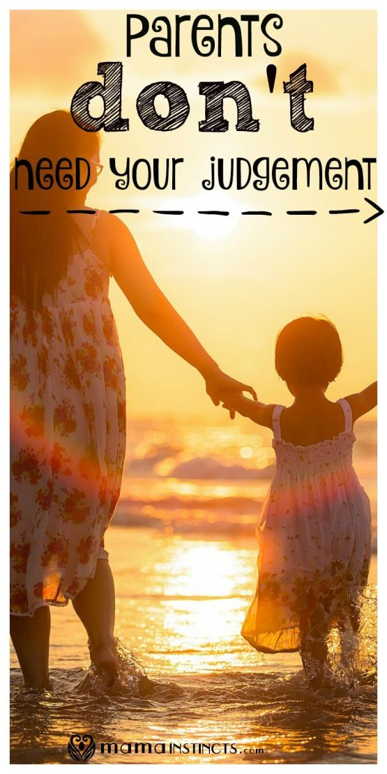 Have you ever seen a parent struggling or doing something you don't agree with? Do you feel like judging? How about we stop judging and start supporting each other. We need to smile at each other and remember, it could be us.