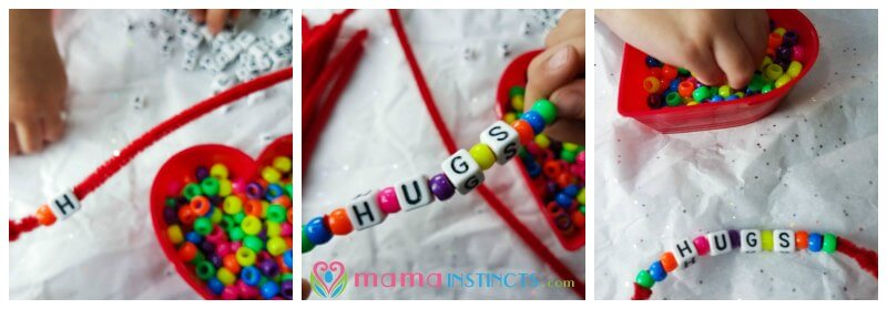 When You Are Adding The Alphabet Beads To The Bracelets Make Sure To Place  A Colored Bead Between Each Letter. This Is A Great Time To Practice Letter  ...
