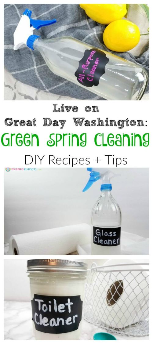 Start your Spring cleaning with these simple tips and hacks. Learn how to make your own DIY cleaning supplies and how to buy non-toxic cleaning products. Live a non-toxic and green lifestyle - it's better you, your kids and family.