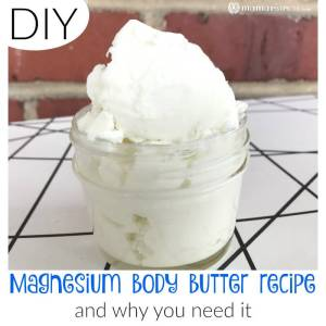 DIY Magnesium Body Butter Recipe (and Why You Need It)
