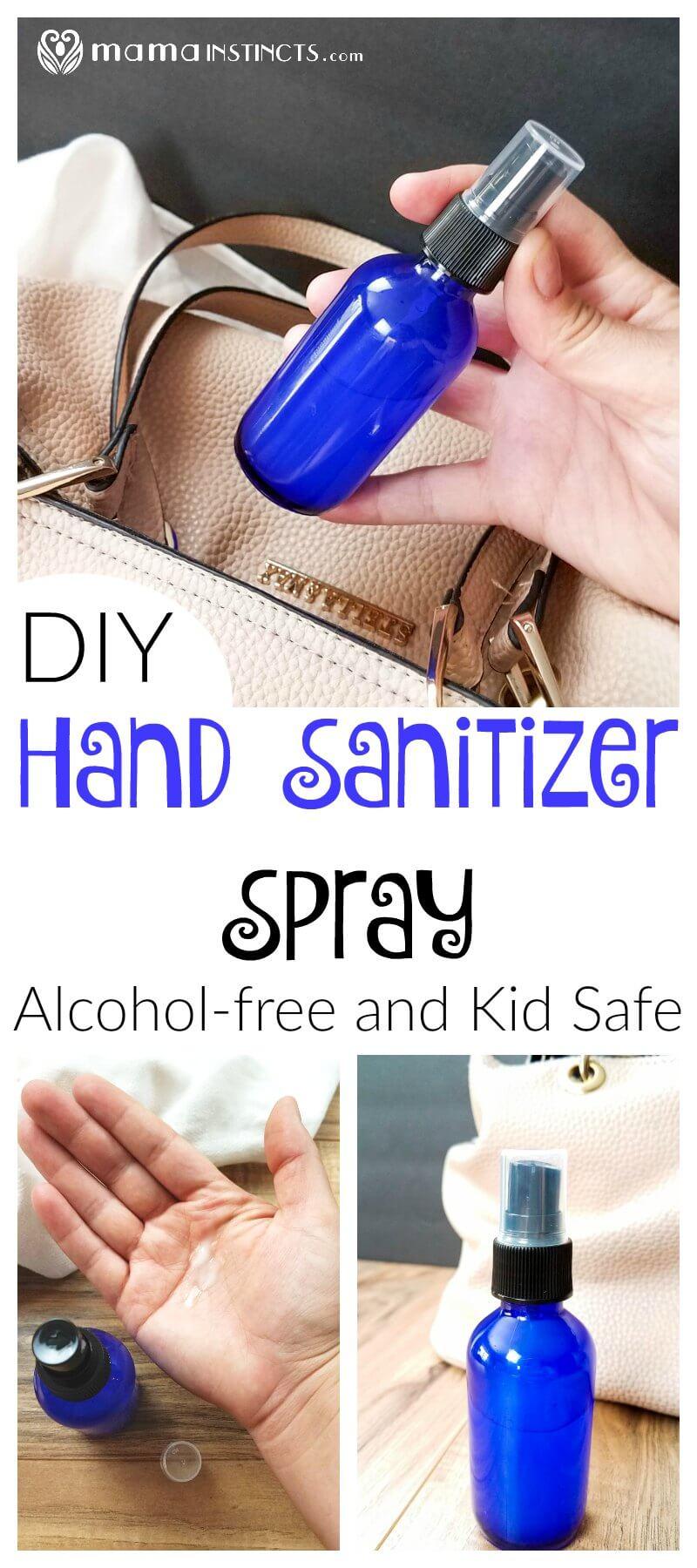 DIY Hand Sanitizer Spray {Alcohol-free and Kid-Safe} – Mama