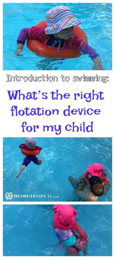 Does your child love to play in the pool but doesn't know how to swim yet? Find out which is the best type of flotation device for your child depending on weight and their swimming skills. A summer must-have!