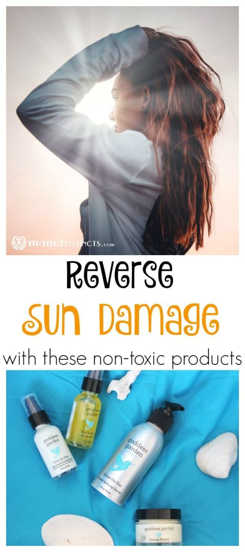 Did you know that the sun causes 90% of all visible skin aging? Did you know that most skin care products contain toxic chemicals? Check out our favorite non-toxic, plant-based and organic products to reverse sun damage.