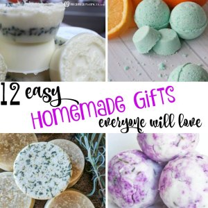 12 Easy Homemade Gifts Everyone Will Love