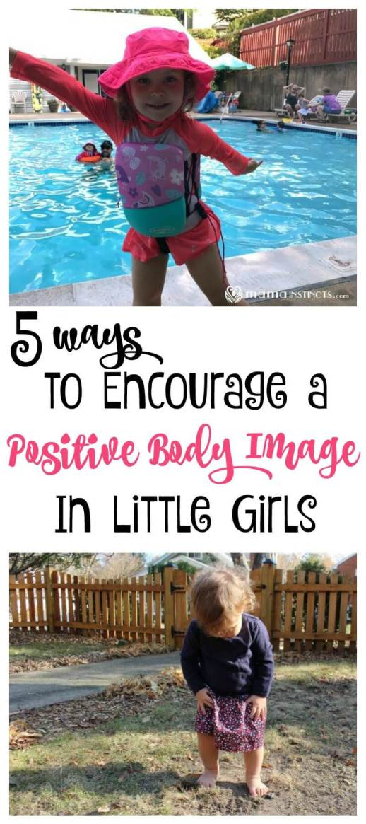 Our daughters are constantly being bombarded with the perfect body image, but learning how to love ourselves starts when they're young and at home. These tips will help you instill a positive body image in your kids. #parenting #positivebodyimage