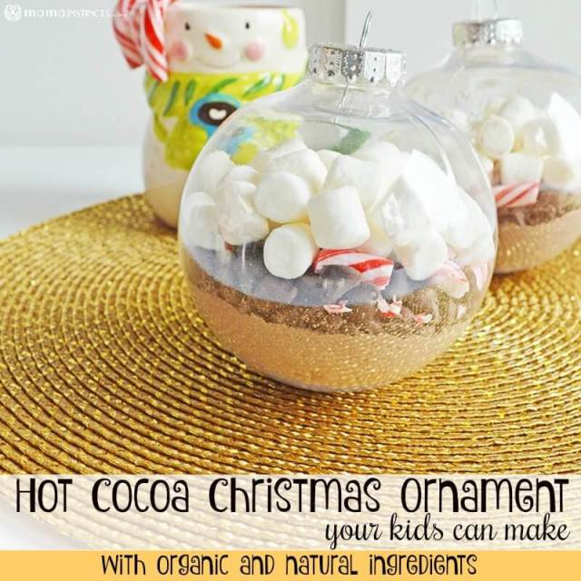 Hot Cocoa Christmas Ornament Your Kids Can Make