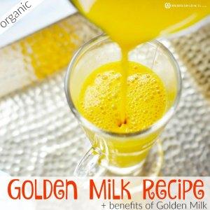 Benefits of Golden Milk and Easy Golden Milk (Turmeric Tea) Recipe