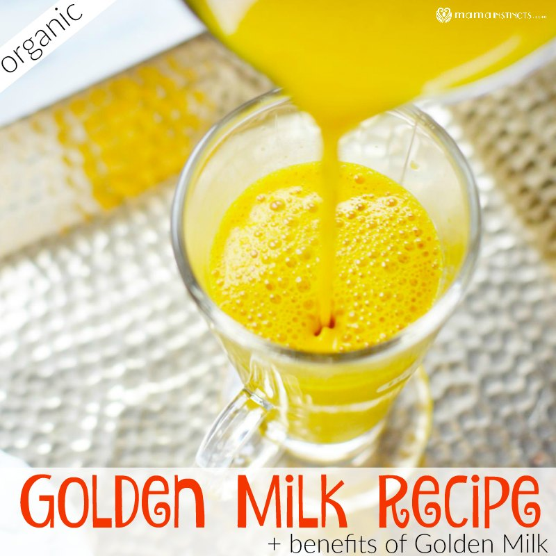 Benefits of Golden Milk and Easy Golden Milk (Turmeric Tea) Recipe