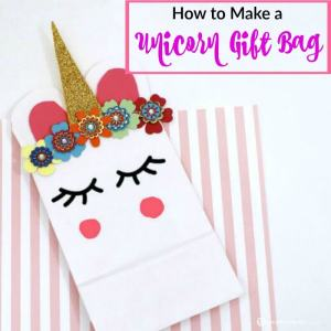 How to Make a Unicorn Gift Bag