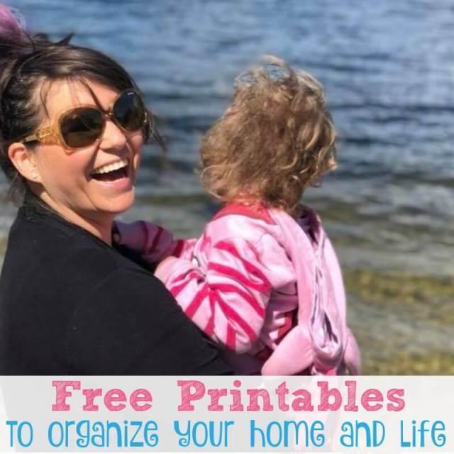 Free Printables to Organize your {Mom} Life