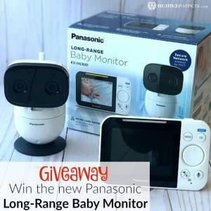 Giveaway: Win the New Panasonic Long-Range Baby Monitor
