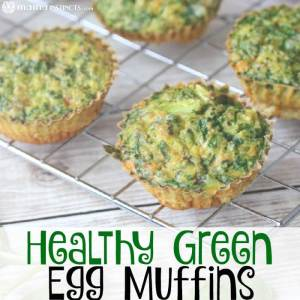 Healthy Green Egg Muffins Recipe
