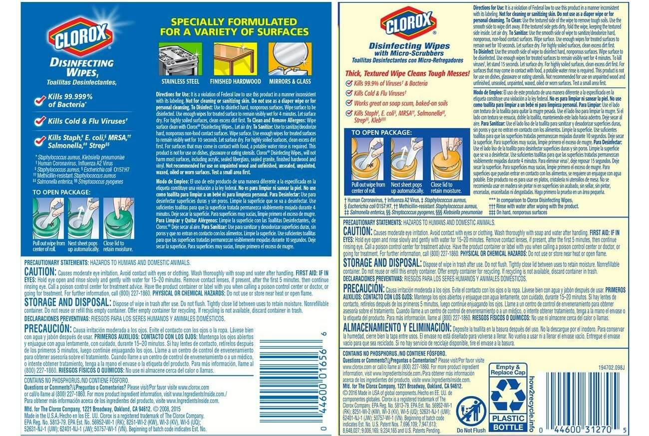 How to Find Safer Alternatives to Disinfecting Wipes for