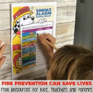 Fire Prevention Can Save Lives: Free Resources for Kids, Teachers and Parents