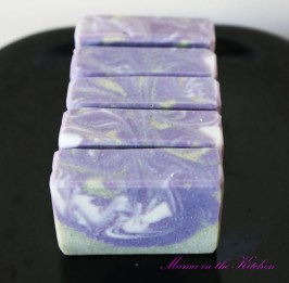 Purple and Green Castile Soap (to match company logo)