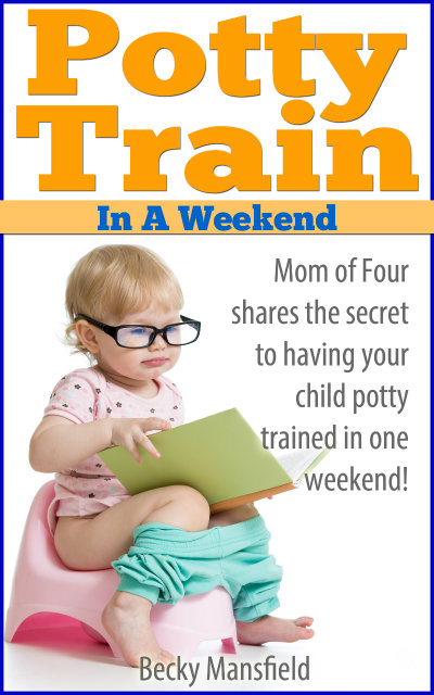 Potty Train in a Weekend. I just used this strategy - and it worked!