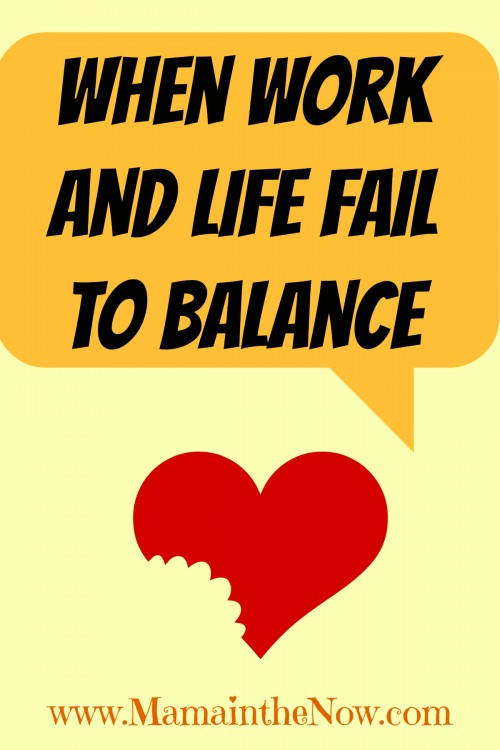 When Work and Life Fail to Balance