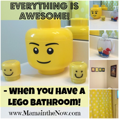 Everything is Awesome When you Have a LEGO Bathroom