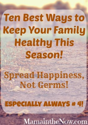 Spread Happiness, Not Germs