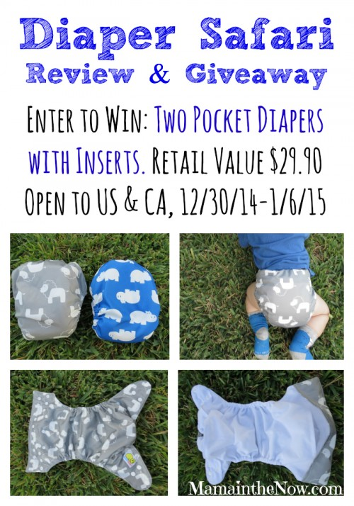 Diaper Safari Review and Giveaway