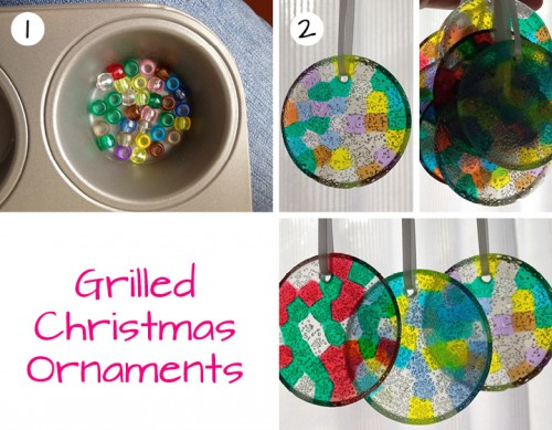 Grilled Christmas Ornaments easy and kid-friendly